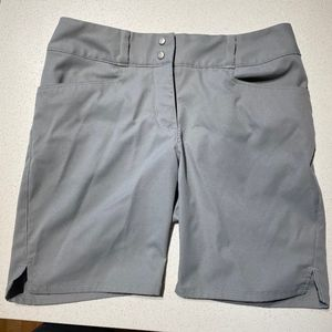 Adidas Grey Golf Essential Shorts 7""